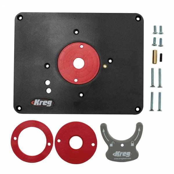 KREG® Einlegeplatte PRS4034 - vorgebohrt für Triton TRA001/MOF001 - PRS4034