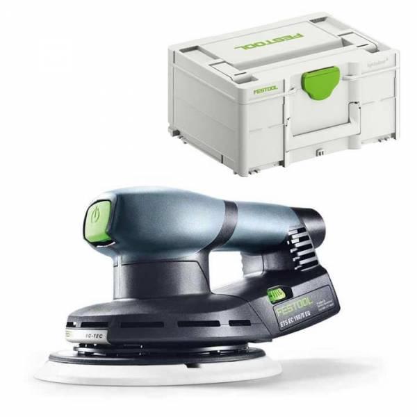 Festool Exzenterschleifer ETS EC 150/5 EQ-Plus im Systainer SYS3 M 187 - NO: 576329