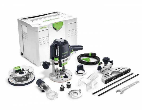 Festool Oberfräse OF 1400 EBQ-Plus + Box-OF-S 8/10x HW - NO: 574398