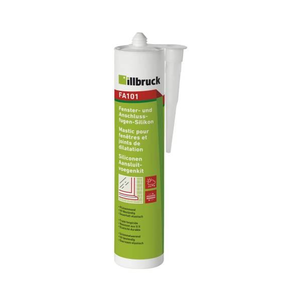 illbruck FA101 Fenster- und Anschlussfugen-Silikon 310ml weiß