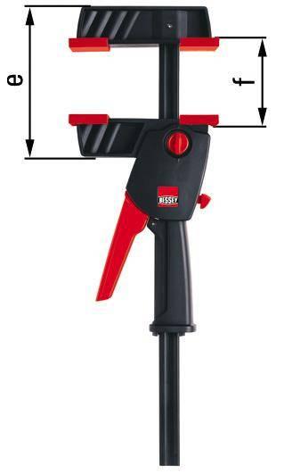 Bessey DuoKlamp - Spannweite: 300mm − DUO30-8