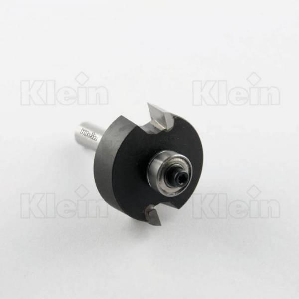 KLEIN® HW Falzfräser mit Anlauflager D=35 - E=8/9,5/11/12,7mm S8 - C121.850.R