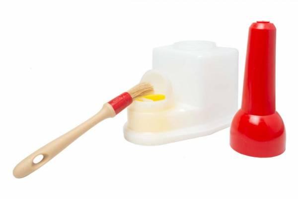 """Leimsparbehälter TS Boy """"Minor"""" Inhalt: 0,4 Liter - Komplett mit Leimpinsel"""