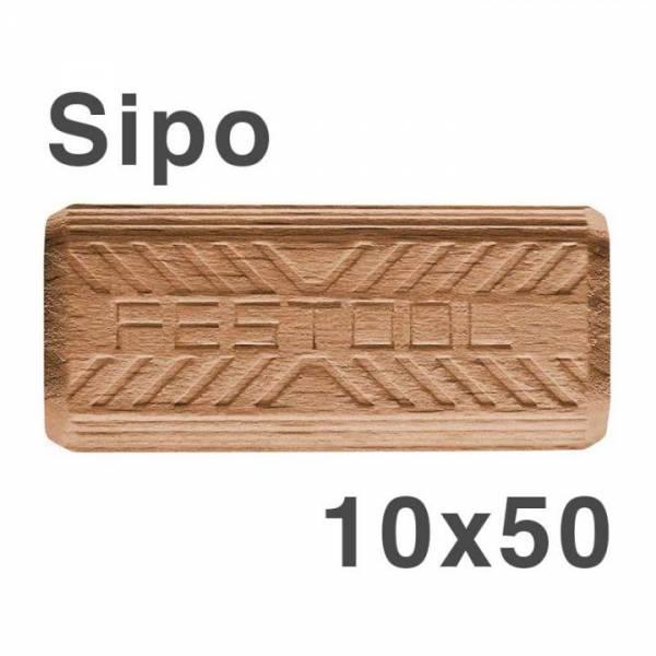 Festool DOMINO Dübel Sipo D 10x50/255 MAU - NO: 494863