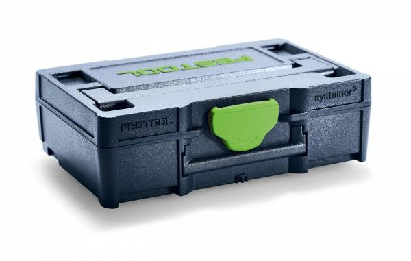 Festool Micro-Systainer³ SYS3 XXS 33 blau (Visitenkarten-Format) - NO: 205399