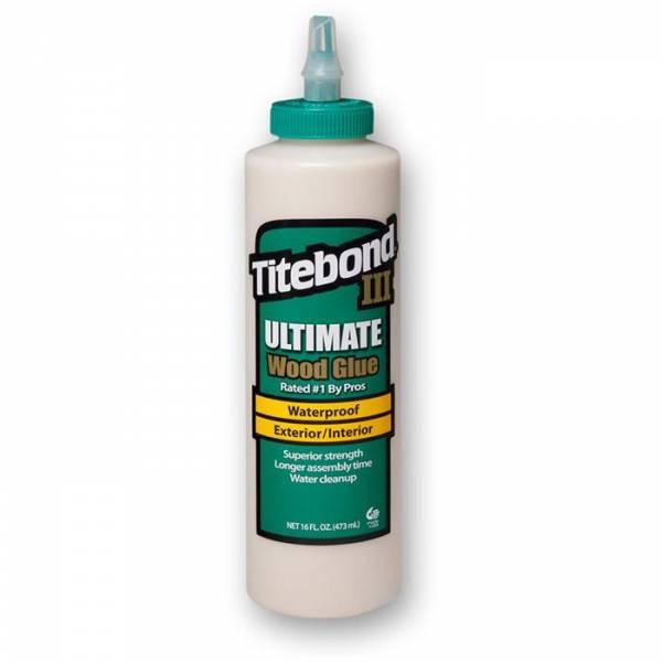 Titebond® III Ultimate Wood Glue 16Oz (entspricht 473ml) - WASSERFEST - Holzleim