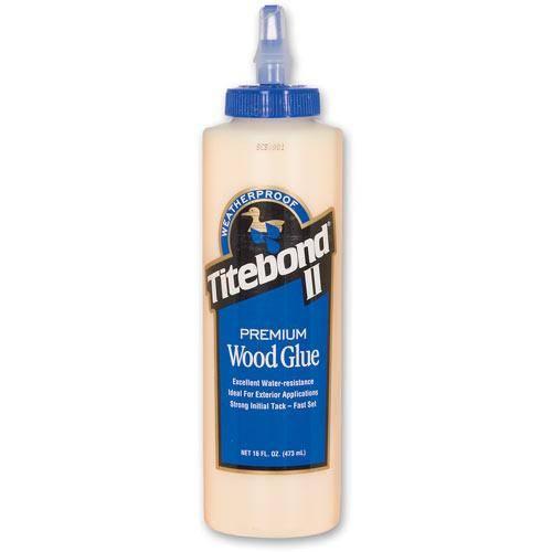 Titebond® II Premium Wood Glue 16Oz (entspricht 473ml) - WETTERRESISTENT - Holzleim