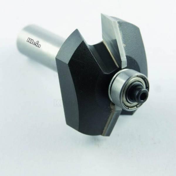 KLEIN® HW Abplatt - Fräser mit Anlauflager D=42 S 12 - E175.420.R