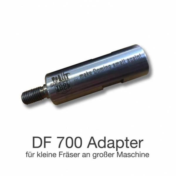 """Mikes Adapter für Domino XL DF 700 für Fräser der DF 500 """"Dominoadapter"""""""
