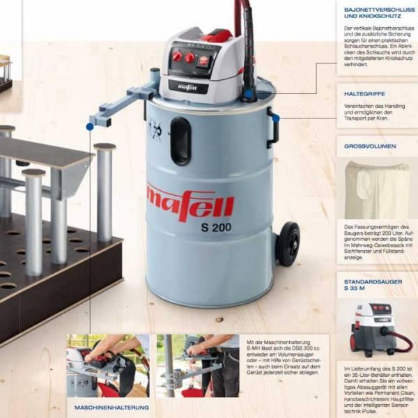 Mafell Volumensauger S 200 - NO: 91A301