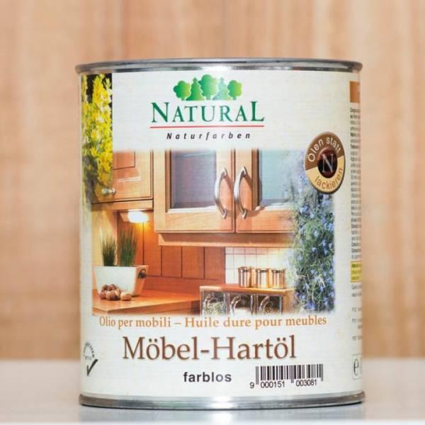 """NATURAL Möbel-Hartöl """"farblos"""" - 2,5 Liter"""