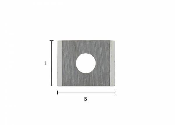 Hartmetall (HW) Wendemsser 12x12x1,5mm für ENT® Planfräser 20439/20459 - 00502