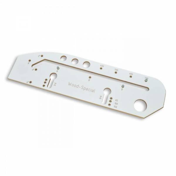 Wood-Special Arbeitsplattenschablone für Küchenarbeitsplatten bis 700mm Breite