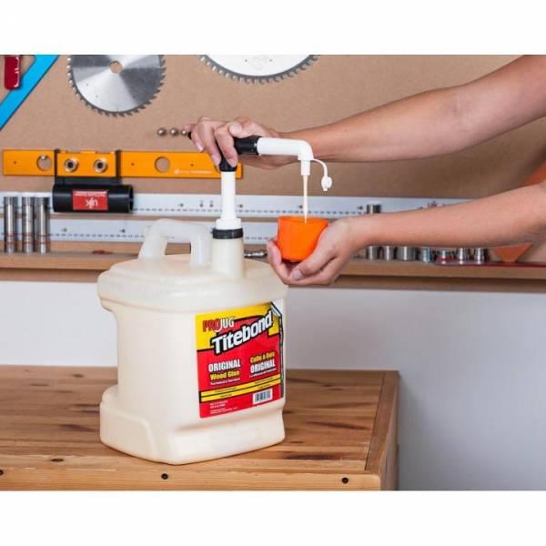 Titebond® Leimpumpe für PROJUG Leimgebinde mit Verschlussstopfen