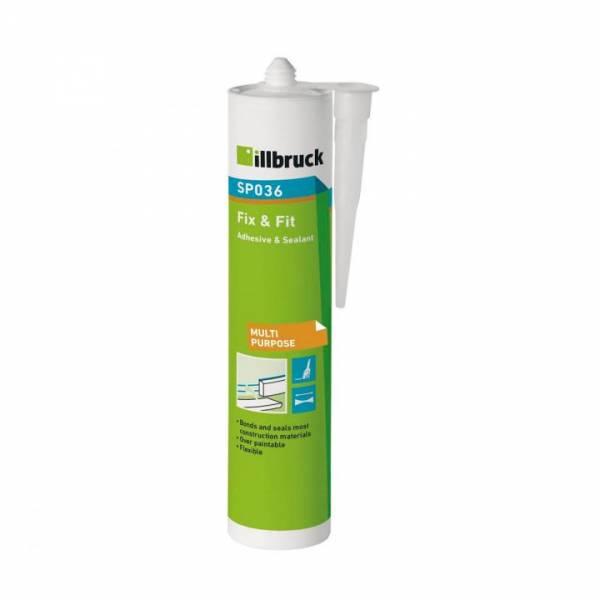 illbruck SP036 Fix & Fit, Kleb- und Dichtstoff 310ml weiß
