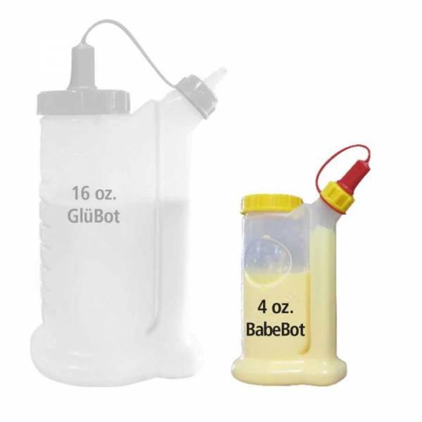 FASTCAP BabeBot Tropffreier-Leimspender (ca. 118ml) 4 Oz.