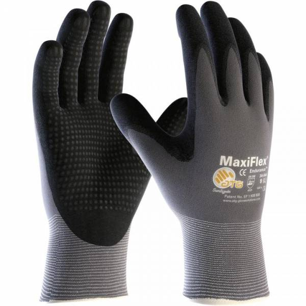 MaxiFlex®Ultimate Schutzhandschuh (MIT Noppen) - 34-844 EN388 Kategorie II - 12