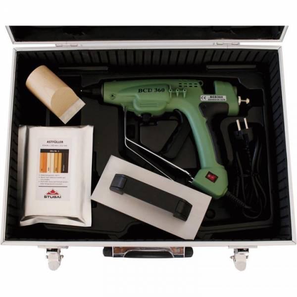 Stubai WoodRepair Profi-Set inkl. MIX-Pack Nr. 1 + 2, Hobel & Kühleisen im Koffer