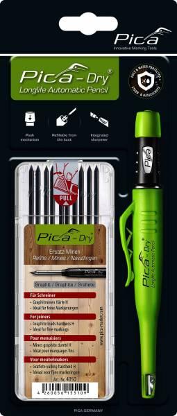 """NEU: PICA Dry Bundle """"Joiners"""" Tieflochmarker mit Tischlerminen - 3030+4050"""