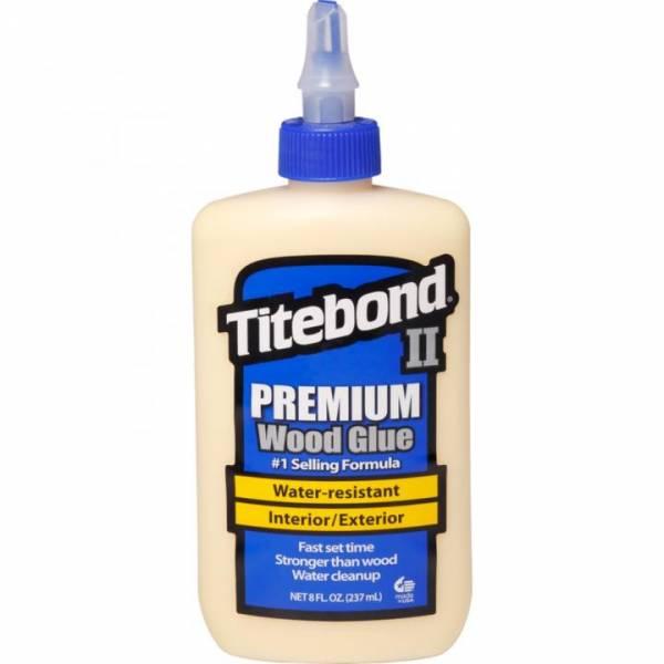 Titebond® II Premium Wood Glue 8Oz (entspricht 237ml) - WETTERRESISTENT - Holzleim