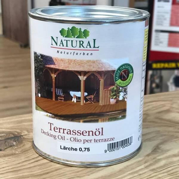 NATURAL Außenbereichs-Öl / Terassenöl - 0,75 Liter - Lärche