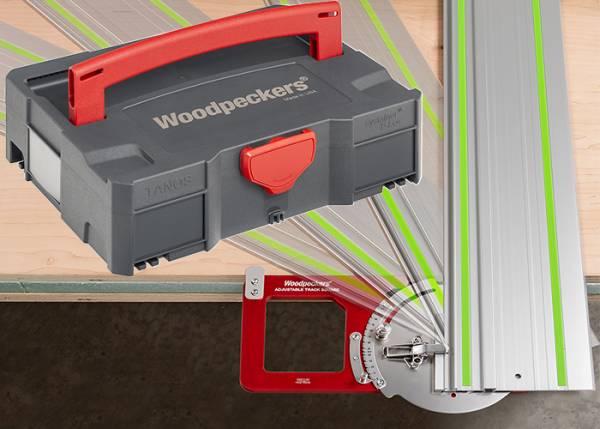 Woodpeckers® Winkelanschlag für Führungsschienen im Systainer - ADTKSQ-WSYS