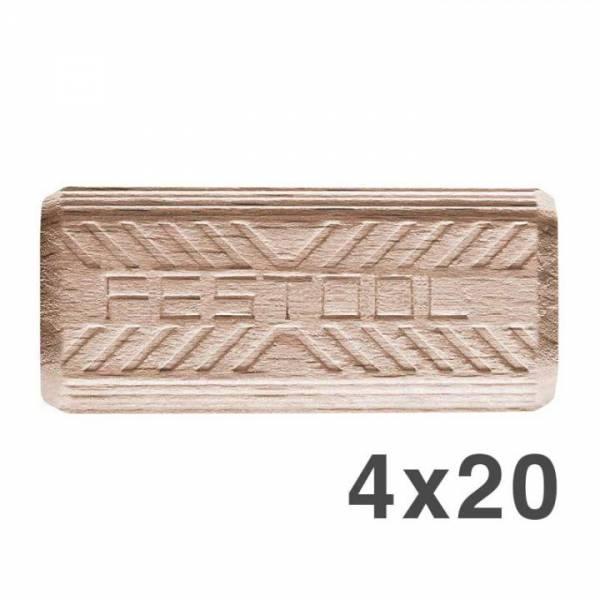 Festool DOMINO Dübel Buche D 4x20/450 BU - NO: 495661