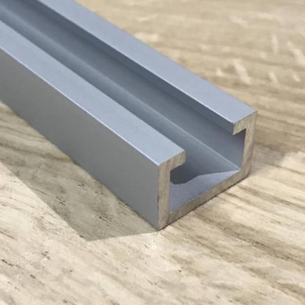 T-Nutschiene Aluminium eloxiert - 1000mm