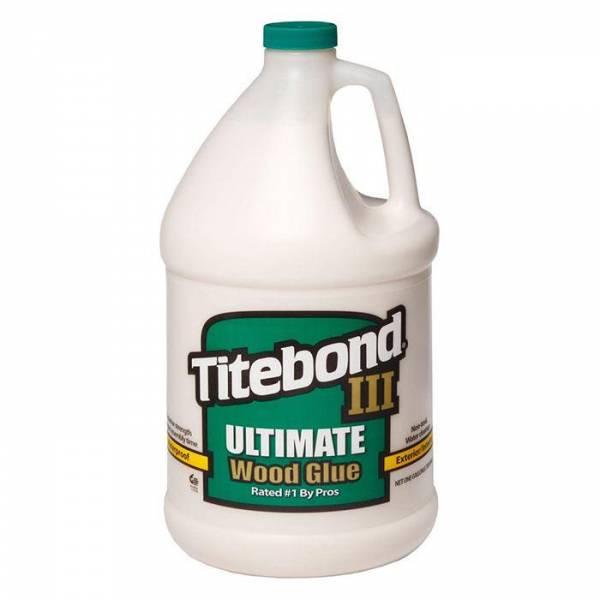 Titebond® III Ultimate Wood Glue 1 Gallone (entspricht 3785ml) - WASSERFEST - Holzleim