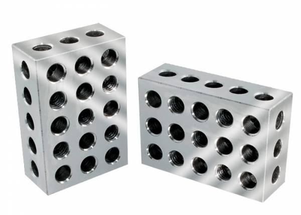 1-2-3 Blocks - metrisch -Bohrschablone & Multi-Werkstatthelfer