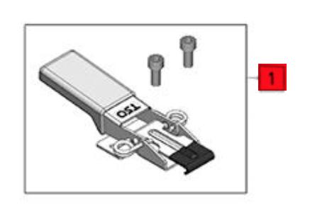 Festool Ersatzteil Spannpratze für FS-WA/90 - No: 205674