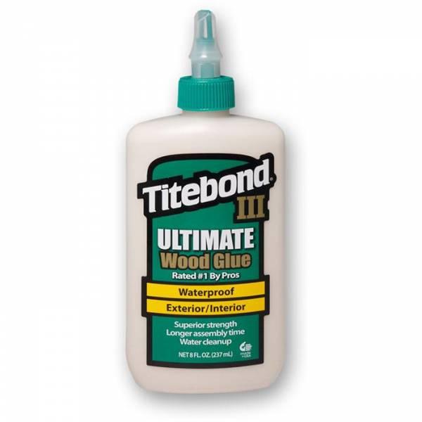 Titebond® III Ultimate Wood Glue 8Oz (entspricht 237ml) - WASSERFEST - Holzleim